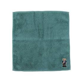 【抗菌防臭】今治ポリジンベア刺繍タオル (ライトグリーン)