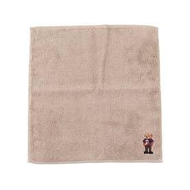 【抗菌防臭】今治ポリジンベア刺繍タオル (サンドベージュ)