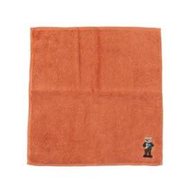 【抗菌防臭】今治ポリジンベア刺繍タオル (オレンジ)