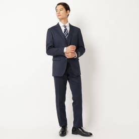 千鳥スーツ3ピースセットアップ (ネイビー)