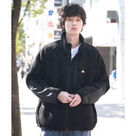 【WEB限定】KELTY/ケルティー別注ビックシルエットボアフリースブルゾン/ユニセックスでオススメ!! (ブラック)