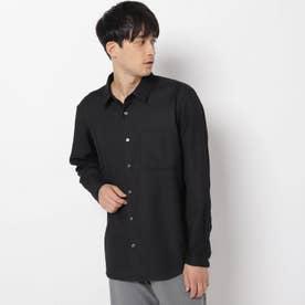 ルミレットウールシャツ (ブラック)
