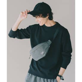 【洗濯機OK】ヘビロテできる着やすいエコニット/モックネックニット/選べる8色展開 (ブラック)
