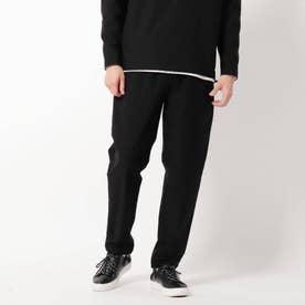 綾織りストレッチワンマイルパンツ (ブラック)