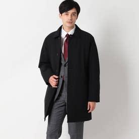中綿ステンカラーコート (ブラック)