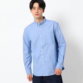 調温機能 ポリオックスシャツ (ブルー)