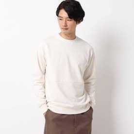 【保温】エアラバー裏毛プルオーバー (オフホワイト)