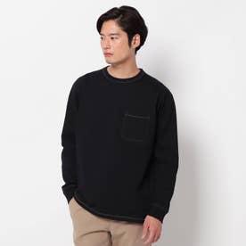 USAコットンタフ ロングTシャツ (ブラック)