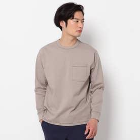 USAコットンタフ ロングTシャツ (ベージュ)