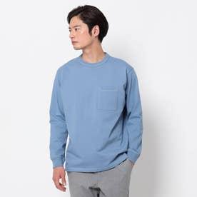 USAコットンタフ ロングTシャツ (ライトブルー)