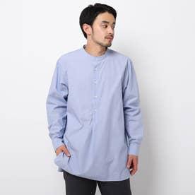バンドカラースキッパーシャツ (ライトブルー)