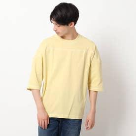 コットンヘンプフットボールTシャツ (レモンイエロー)