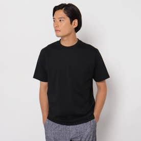 【PREMIUM COTTON】スーピマコットンクルーネックTシャツ (ブラック)