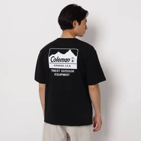 【コールマン/Coleman別注】バックプリントTシャツ (ブラック)