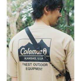 【コールマン/Coleman別注】バックプリントTシャツ (ベージュ)
