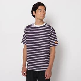 【SHELTECH×ChupaChups】ボーダーTシャツ (ライトパープル)