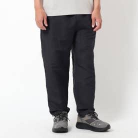 ベルギーリネン混パンツ (ブラック)