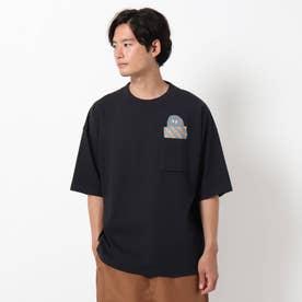 シェルテック別注ポケットTシャツ (ブラック)