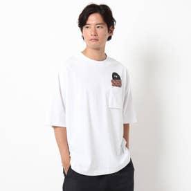 シェルテック別注ポケットTシャツ (ホワイト)