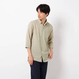 【イージーケア】Reflax(R)/リフラックス7分袖シャツ (ベージュ)