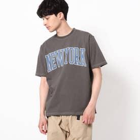 【WEB限定】カレッジTシャツ/パパとおそろい/リンクコーデ (ブラック)