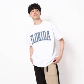 【WEB限定】カレッジTシャツ/パパとおそろい/リンクコーデ (ホワイト)