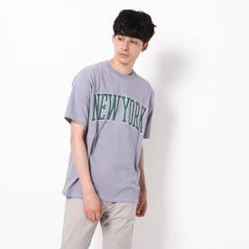 【WEB限定】カレッジTシャツ/パパとおそろい/リンクコーデ (ライトパープル)