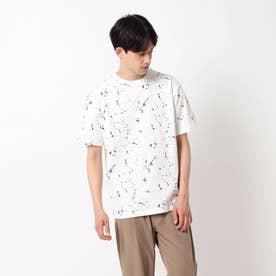 スプラッシュ天竺Tシャツ (オフホワイト)