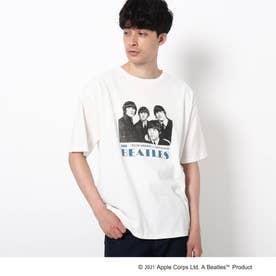THE BEATLES 【WEB限定】THE BEATLES/ビートルズ フォトプリントTシャツ (オフホワイト)