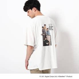 THE BEATLES 【WEB限定】THE BEATLES/ビートルズ バックプリントフォトプリントTシャツ (オフホワイト)