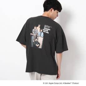 THE BEATLES 【WEB限定】THE BEATLES/ビートルズ バックプリントフォトプリントTシャツ (チャコールグレー)