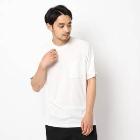 接触冷感リンクスTシャツ (オフホワイト)
