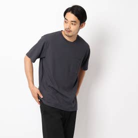 接触冷感リンクスTシャツ (チャコールグレー)