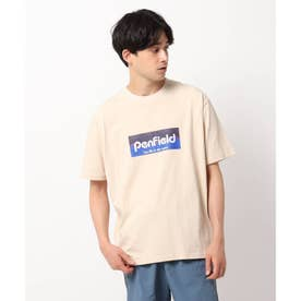 【PENFIELD/ペンフィールド】フロントプリントTシャツ (ライトベージュ)