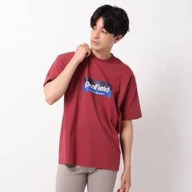 【PENFIELD/ペンフィールド】フロントプリントTシャツ (ボルドー)