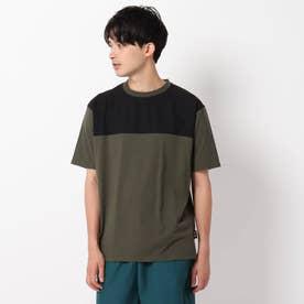 【CORDURA(R)】天竺切り替えTシャツ (カーキ)