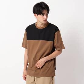 【CORDURA(R)】天竺切り替えTシャツ (キャメル)