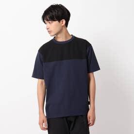 【CORDURA(R)】天竺切り替えTシャツ (ネイビー)