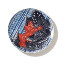 KINTARO KOI PLATES (RED)