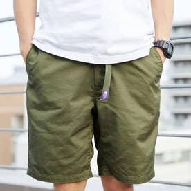 Stretch Twill Shorts (KHAKI)