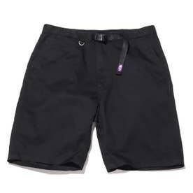 Stretch Twill Shorts (BLACK)