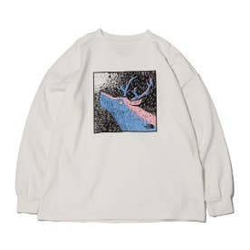 8oz L/S Graphic Tee (OFFWHITE)