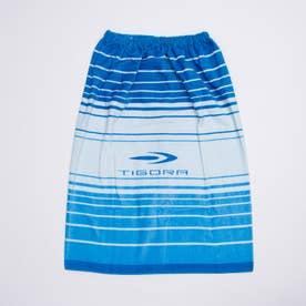 ジュニア 水泳 ラップタオル TR-3S4601TO 【返品不可商品】 (ブルー)