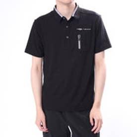 メンズ ゴルフ 半袖シャツ ゆったりサイズ有り TR-1H1008P