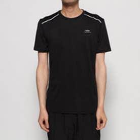 メンズ 陸上/ランニング 半袖Tシャツ TR-3R1509TS BK