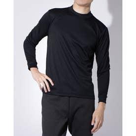 メンズ サッカー/フットサル 長袖インナーシャツ TR-8SW1800LSヒ (ブラック)
