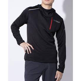 メンズ 陸上/ランニング 長袖Tシャツ TR-3R1610TL (ブラック)