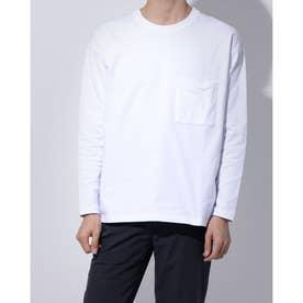 メンズ 長袖Tシャツ TR-9C1660CL (ホワイト)