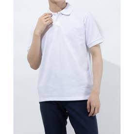 メンズ 半袖ポロシャツ TR-9C1271PS (ホワイト)