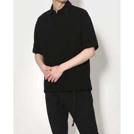 メンズ 半袖ポロシャツ TR-9C1361PS (ブラック)